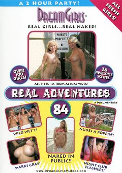 "Adult entertainment movie ""Real Adventures 84"". Produced by Dream Girls."