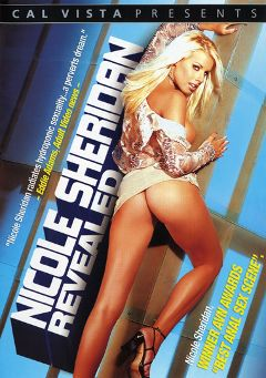 "Adult entertainment movie ""Nicole Sheridan Revealed"" starring Nicole Sheridan, Justin Hitchcock & T.J. Hart. Produced by Metro Media Entertainment."