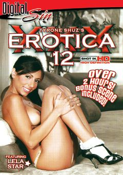 "Adult entertainment movie ""Erotica XXX 12"" starring Lela Star, Jenna Presley & Sasha Knox. Produced by Digital Sin."