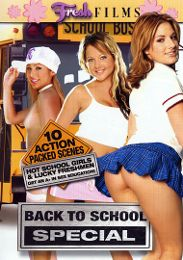 """Editors' Choice presents the adult entertainment movie """"Back To School Special""""."""