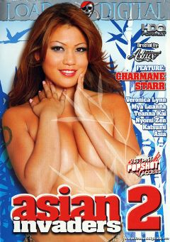 "Adult entertainment movie ""Asian Invaders 2"" starring Charmane Star, Mya Luanna & Nyomi Zen. Produced by Loaded Digital."