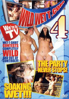 "Adult entertainment movie ""Wild Wet T 4"". Produced by Dream Girls."