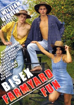 "Adult entertainment movie ""Bisex Farmyard Fun"" starring Jana Lunakova, Jasoslav Fiala & Blanka Antalova. Produced by William Higgins."