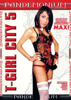 "Adult entertainment movie ""T-Girl City 5"". Produced by Pandemonium."