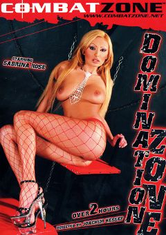 "Adult entertainment movie ""Domination Zone"" starring Sandra Parker, Sabrina Rose & Judith Fox. Produced by Combat Zone."