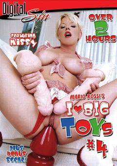 "Adult entertainment movie ""I Love Big Toys 4"" starring Nikki Nievez, Sammie Rhodes & Missy Monroe. Produced by Digital Sin."