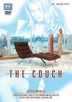 "Adult entertainment movie ""The Couch"" starring Isabel Ice, Dora Venter & Poppy Morgan. Produced by Harmony Films Ltd.."