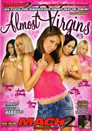 """Featured Studio - Supercore presents the adult entertainment movie """"Almost Virgins 3""""."""
