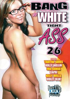 "Adult entertainment movie ""Bang My White Tight Ass 26"" starring Tabitha James, No Name Jane & Essy Moore. Produced by Legend."