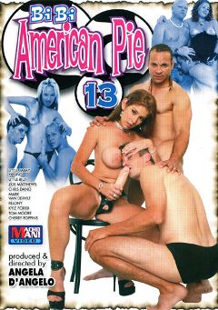 "Adult entertainment movie ""Bi Bi American Pie 13"" starring Jimmy Young, Kyle Foxxx & Mark Galfione. Produced by Legend."