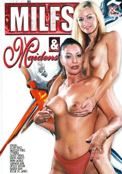 "Adult entertainment movie ""MILFS And Maidens"" starring Drew Hurlie, Amber Rain & Candy Vegas. Produced by Legend."