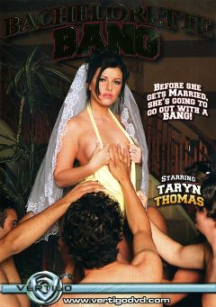 "Adult entertainment movie ""Bachelorette Bang"" starring Taryn Thomas, Sascha Libido & Trent Soluri. Produced by Vertigo."