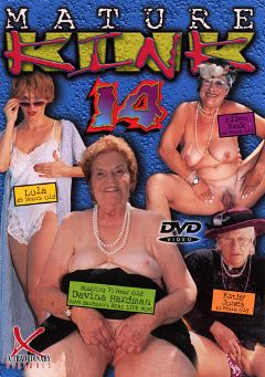 "Adult entertainment movie ""Mature Kink 14"" starring Lola *, Davina Hardman & Ellen Zark. Produced by Legend."