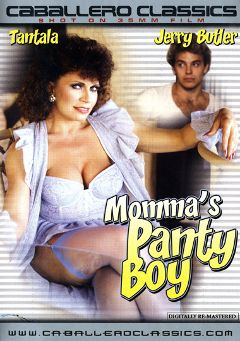 "Adult entertainment movie ""Momma's Panty Boy"" starring Tantala Ray & Jerry Butler. Produced by Caballero Video."