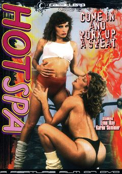 "Adult entertainment movie ""Hot Spa"" starring Lynn Ray, Karen Summer & Richard Anderson. Produced by Caballero Video."