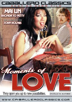 "Adult entertainment movie ""Moments Of Love"" starring Mai Lin, Noel Yagabuchi & Weston Peace. Produced by Caballero Video."