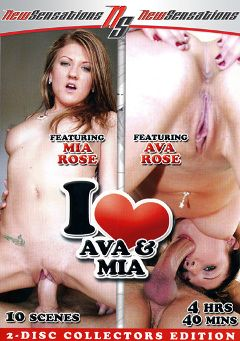 "Adult entertainment movie ""I Love Ava And Mia:  Part 2"" starring Ava Rose, Mia Rose & Manuel Ferrara. Produced by New Sensations."