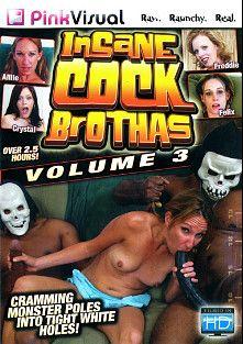 Insane Cock Brothas 3, starring Crystal Clear, Allie Steal, Felix Macenzie, Freddie Elle and Nicole Moore, produced by Pink Visual.