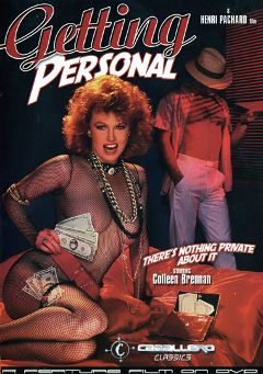 "Adult entertainment movie ""Getting Personal"" starring Colleen Brennan, Blair Harris & Rita Ricardo. Produced by Caballero Video."