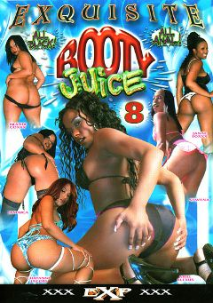 "Adult entertainment movie ""Booty Juice 8"" starring Brandie Coxx, Chyanne Jacobs & Jamaica. Produced by EXP Exquisite."
