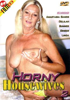 "Adult entertainment movie ""Horny Housewives 2"" starring Anastasia Sands. Produced by Filmco."