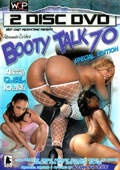 "Adult entertainment movie ""Booty Talk 70:  Part 2"" starring Vivica Coxxx, Roxy Reynolds & Dena Calli. Produced by West Coast Productions."