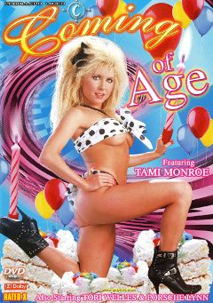 "Adult entertainment movie ""Coming Of Age"" starring Tami Monroe, William Sweet & Honey Moore. Produced by Caballero Video."