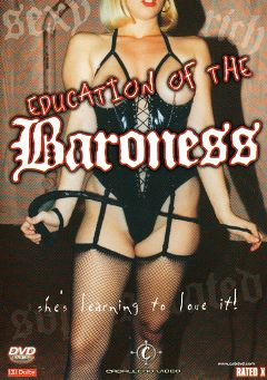 "Adult entertainment movie ""Education Of The Baroness"" starring Brigitte Lahaie, John Gatto & Michele D'Agro. Produced by Caballero Video."