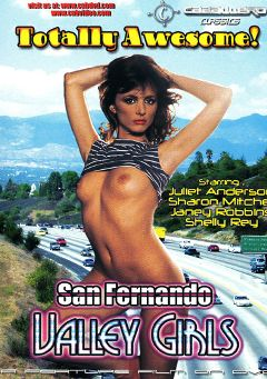"Adult entertainment movie ""San Fernando Valley Girls"" starring Laurie Smith, Tigr & Jim Malibu. Produced by Caballero Video."