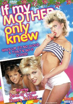 "Adult entertainment movie ""If My Mother Only Knew"" starring Honey Wilder, Amber Lynn & Joy Glenn. Produced by Caballero Video."