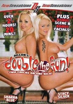 "Adult entertainment movie ""Double The Fun"" starring Sharka Blue, Sheridan & Stacy Silver. Produced by New Sensations."