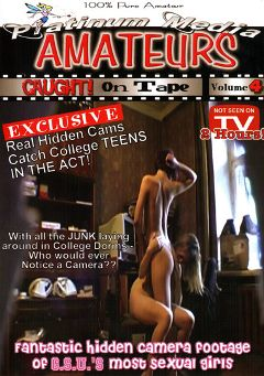 "Adult entertainment movie ""Amateurs Caught On Tape 4"". Produced by Platinum Media."