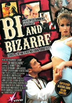 "Adult entertainment movie ""Bi And Bizarre"" starring C.J. Bennett, Lana Woods & Sharon Kane. Produced by Vivid Entertainment."