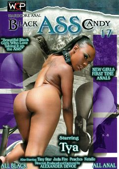 "Adult entertainment movie ""Black Ass Candy 17"" starring Tya, Jada Fire & Peaches (I). Produced by West Coast Productions."