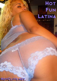 "Adult entertainment movie ""Hot Fun Latina"" starring Carl Hubay. Produced by Hot Clits Video."