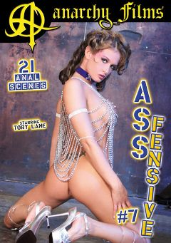 "Adult entertainment movie ""Assfensive 7"" starring Nicki Hunter, Tory Lane & Aurora Snow. Produced by Anarchy Films."