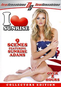 "Adult entertainment movie ""I Love Sunrise"" starring Julian, Autumn Haze & Sunrise Adams. Produced by New Sensations."