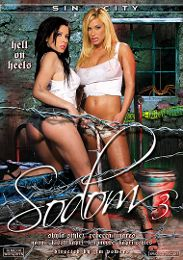 "Featured Star - Rebeca Linares presents the adult entertainment movie ""Sodom 3""."