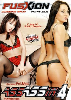 "Adult entertainment movie ""Assassin 4"" starring Sandra Romain, Katsuni & Jamie Elle. Produced by Fusxion."