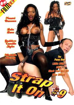 "Adult entertainment movie ""Strap It On 9"" starring Nyomi Banxxx, Lola Lane & Max Dillan. Produced by Filmco."