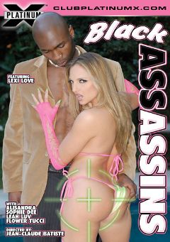 "Adult entertainment movie ""Black Assassins"" starring Sophie Dee, Lexi Love & Leah Luv. Produced by Platinum X Pictures."