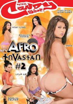 "Adult entertainment movie ""Afro Invasian 2"" starring Max Mikita, Ashley Marie & Kiwi Ling. Produced by Candy Shop."