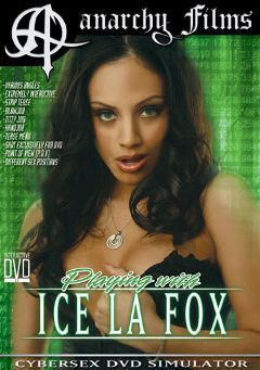"Adult entertainment movie ""Playing With Ice La Fox"" starring Ice La Fox. Produced by Anarchy Films."