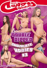 """Just Added presents the adult entertainment movie """"Double Dipped Chocolate Honies 3""""."""
