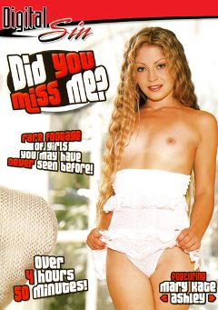 "Adult entertainment movie ""Did You Miss Me Part 2"" starring Mary Kate Ashley, Brother Love & Luna Laine. Produced by Digital Sin."