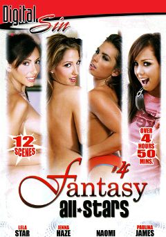 "Adult entertainment movie ""Fantasy All Stars 4 Part 2"" starring Paulina James, Lela Star & Naomi. Produced by Digital Sin."