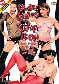 "Adult entertainment movie ""Older Ladies Strap It On"" starring Vanessa Videl, C.J. Bennett & Lynn LeMay. Produced by Filmco."
