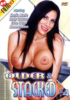 "Adult entertainment movie ""Older And Stacked 4"" starring Sheila Marie, Summer Sinn & Holly Halston. Produced by Filmco."