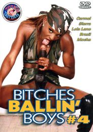 """Just Added presents the adult entertainment movie """"Bitches Ballin' Boys 4""""."""