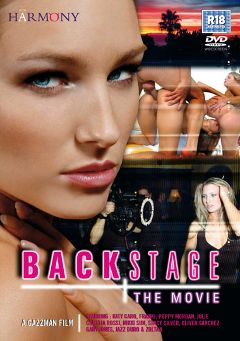 "Adult entertainment movie ""Backstage The Movie"" starring Katy Caro, Nikki Sun & Claudia Rossi. Produced by Harmony Films Ltd.."